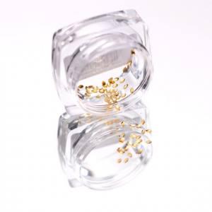 Komilfo Металлические Текстурные Заклепки золото овал маленький, 1*2 мм, 50 шт