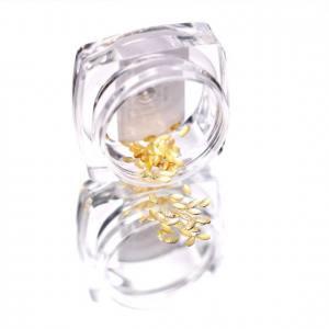 Komilfo Металлические Текстурные Заклепки золото овал большой, 1,5*3 мм, 50 шт
