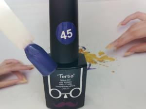 Гель-лак Tertio Baffo 10мл №45 сине-фиолетовый