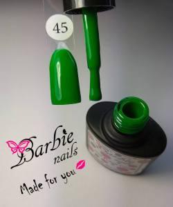 Гель-лак Barbie Nails №45 светлый зеленый