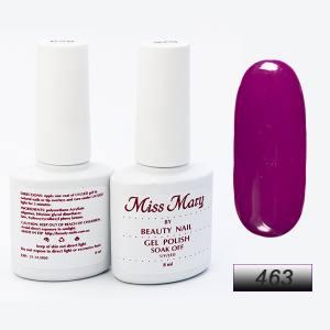 Гель-лак Miss Mary 8ml № 463 ( малиновый )