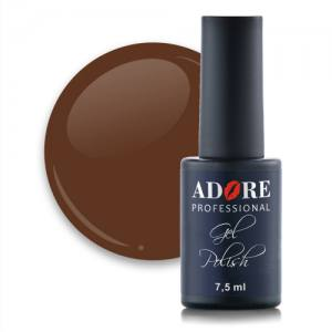 Гель-лак Adore №464 7,5мл пряный коричневый