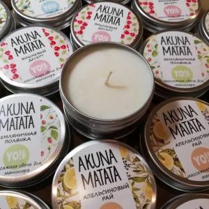Массажная свеча Akuna Matata YO!Nails