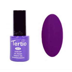 Гель-лак Tertio Темно-пурпурный №123 10 мл