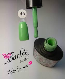 Гель-лак Barbie Nails №46 оливково-зеленый