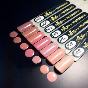 Гель-лак Nice 8.5мл №002 кирпично-розовый, эмаль
