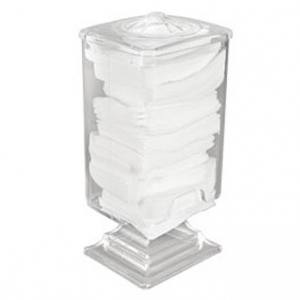 Контейнер стаканчик для салфеток прозрачный