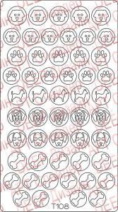 Трафарет для deep дизайна №108