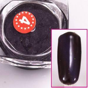 Магнитный пигмент кошачий глаз  Beauty nail №4 сиреневый