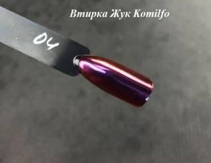 Komilfo втирка Жук №004 (лилово-розово-золотой), 0,5 г