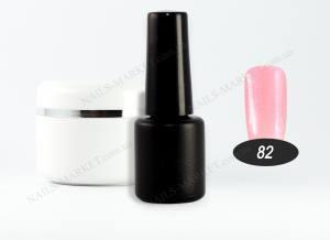 Гель-лак на розлив 5г №82 розовый с шиммером