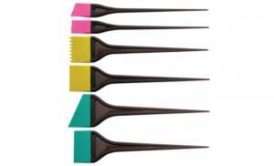 Комплект силиконовых кисточек для окрашивания волос