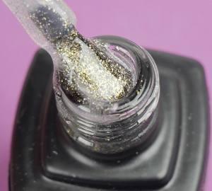 Гель-лак MOON FULL Opal color Gel polish, №507 (полупрозрачный с золотистым шиммером), 8 мл