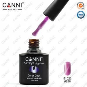Гель-лак Canni кошачий глаз №296 розово-лиловый