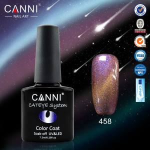 Гель-лак Canni хамелеон кошачий глаз №458