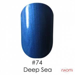 Гель-лак Naomi Gel Polish 74 - Deep Sea, 6 мл