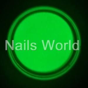Люминесцентный пигмент (светонакопительный порошок) Nails World №01