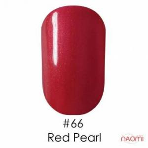 Гель-лак Naomi Gel Polish 66 - Red Pearl, 6 мл