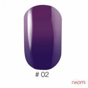 Гель-лак Naomi Thermo Collection 02, 6 мл