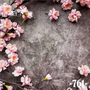 Фотофон виниловый 30см/30см Цветы №761