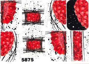 Слайдер водный на прозрачной пленке 5875