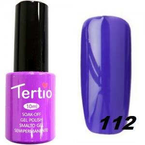 Гель-лак Tertio №112 сине-сиреневый 10мл