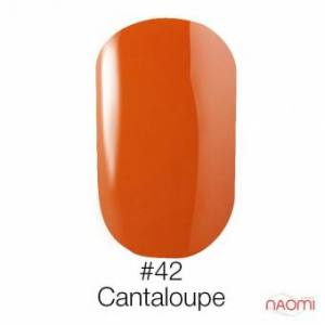 Гель-лак Naomi Gel Polish 42 - Cantaloupe, 6 мл