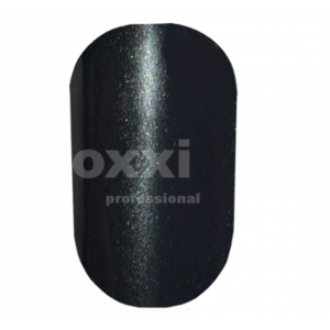"""Гель лак Oxxi """"Кошачий глаз"""" №084(черный, магнитный)"""