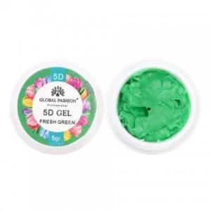 5D GEL для лепки Global 5 ml Fresh Green