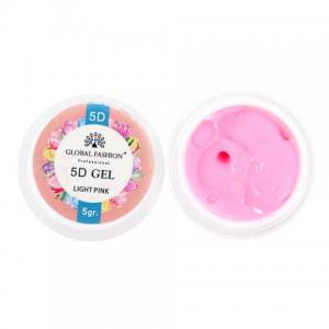 5D GEL для лепки Global 5 ml Light Pink