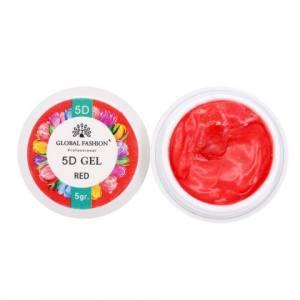 5D GEL для лепки Global 5 ml Red