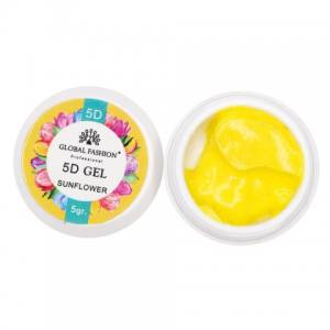 5D GEL для лепки Global 5 ml Sunflower