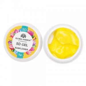 5D GEL для лепки Global 5 ml Sunflower