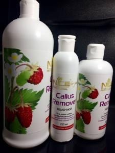 Callus Remover (Каллус ремувер) Nice For You с ароматом Земляники