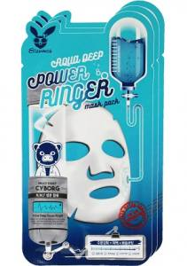 Тканевая маска для сухой кожи ELIZAVECCA AQUA DEEP POWER RINGER MASK PACK  23 мл