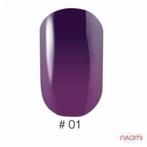 Гель-лак Naomi Thermo Collection 01, 6 мл
