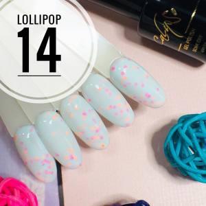 Гель-лак Calipso 9мл Lollipop №14
