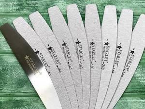 Набор сменных полотен для пилки Starlet Professional (абр.80 8шт+абр.180 8шт)