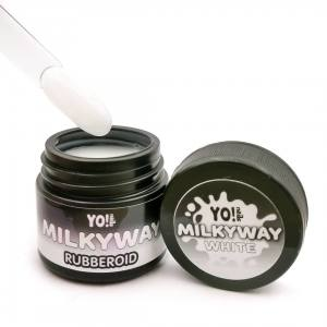 База камуфляж Yo!Nails RubberOid Milkyway WHITE Soak Off Hard Base, 30 мл