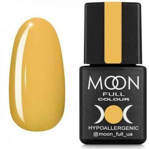 Гель-лак MOON FULL 8мл  №610 желтый карри