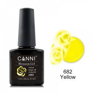 Акварельный гель-лак желтый CANNI №682