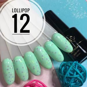 Гель-лак Calipso 9мл Lollipop №12