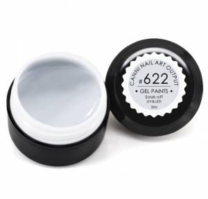 Гель-краска Canni 5г №622 серо-белая