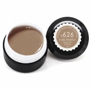 Гель-краска Canni 5г №626 пастельная светло-коричневая