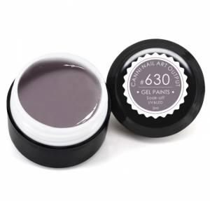 Гель-краска Canni 5г №630 светлая коричнево-серая