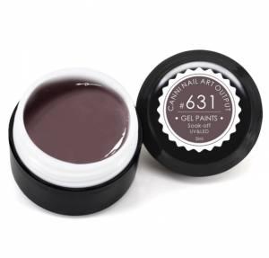 Гель-краска Canni 5г №631 темная коричнево-серая