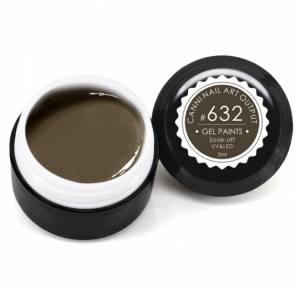 Гель-краска Canni 5г №632 грязно-коричневая