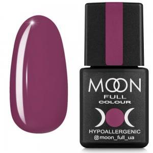 Гель-лак MOON FULL color Gel polish №636 марсала темный