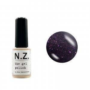 Гель-краска для ногтей My Nail №63 баклажановый с микроблеском