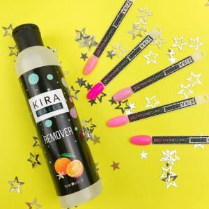 Жидкость для снятия гель-лака Kira Nails 250мл
